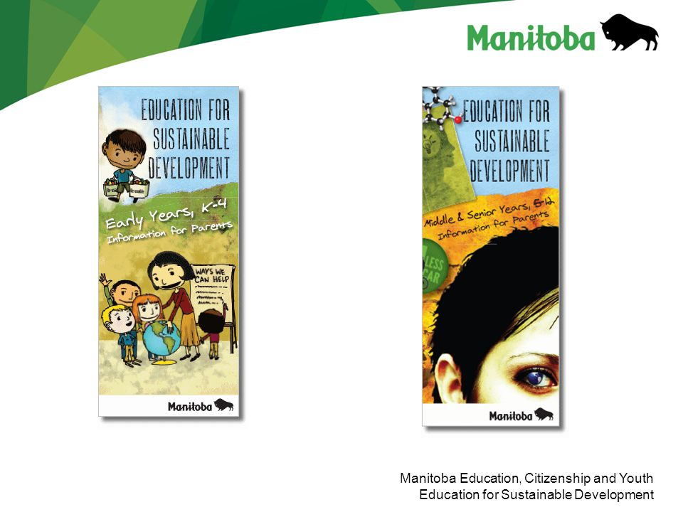 Manitoba Education, Citizenship and Youth