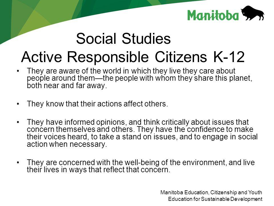 Social Studies Active Responsible Citizens K-12