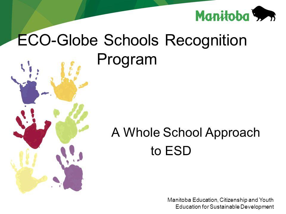 ECO-Globe Schools Recognition Program
