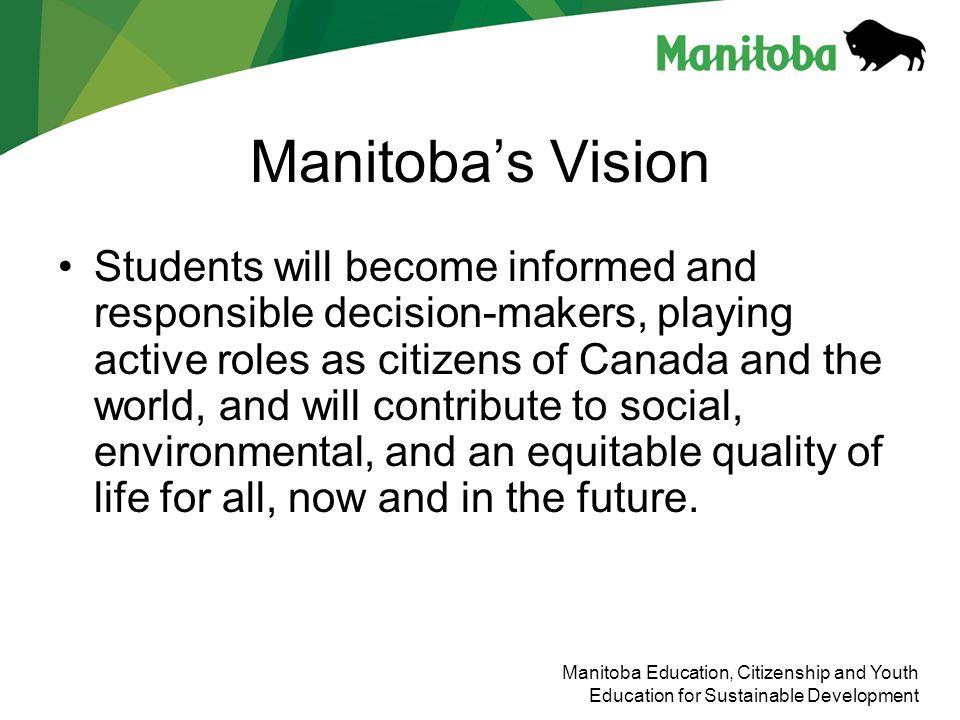 Manitoba's Vision