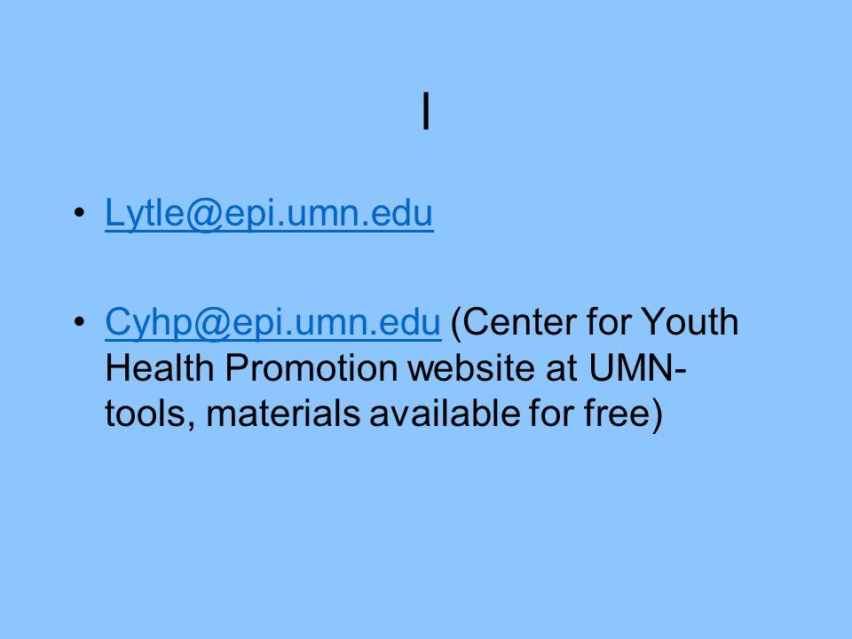 l Lytle@epi.umn.edu.