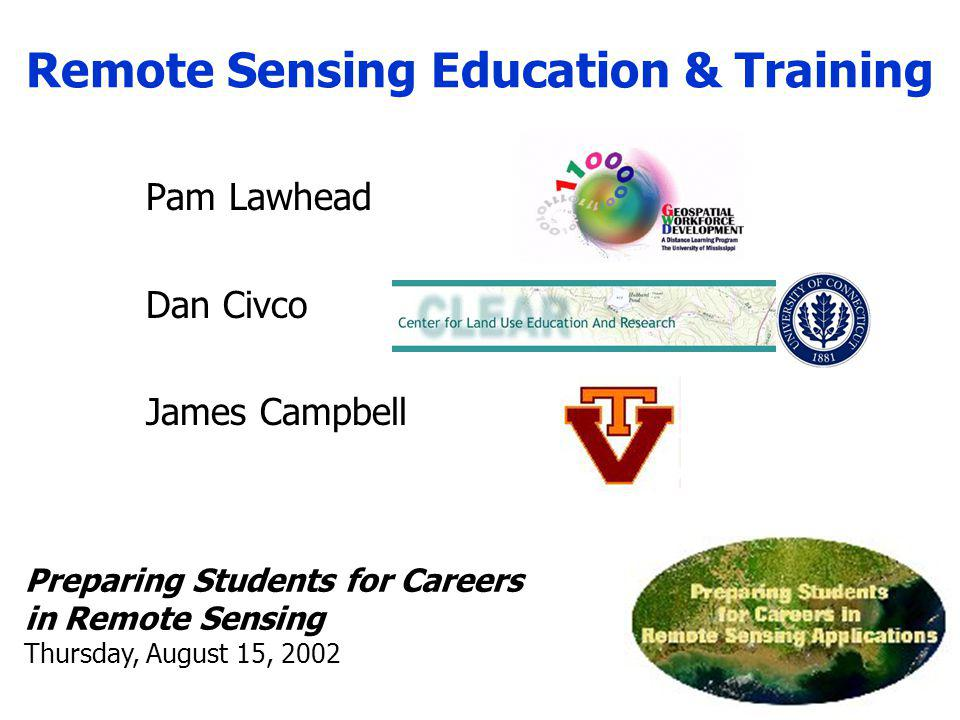 Remote Sensing Education & Training