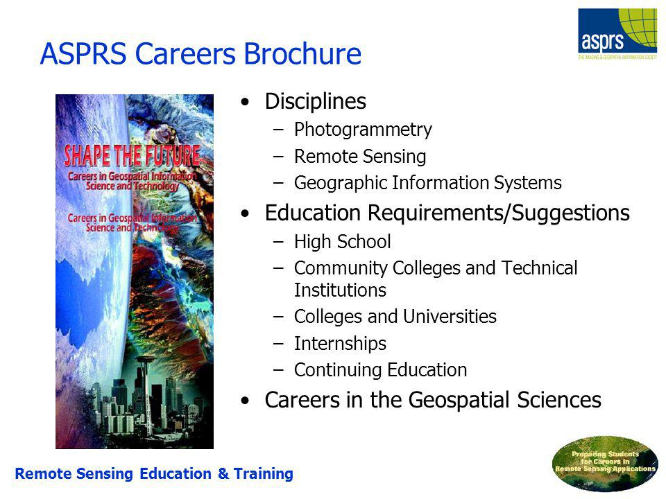 ASPRS Careers Brochure