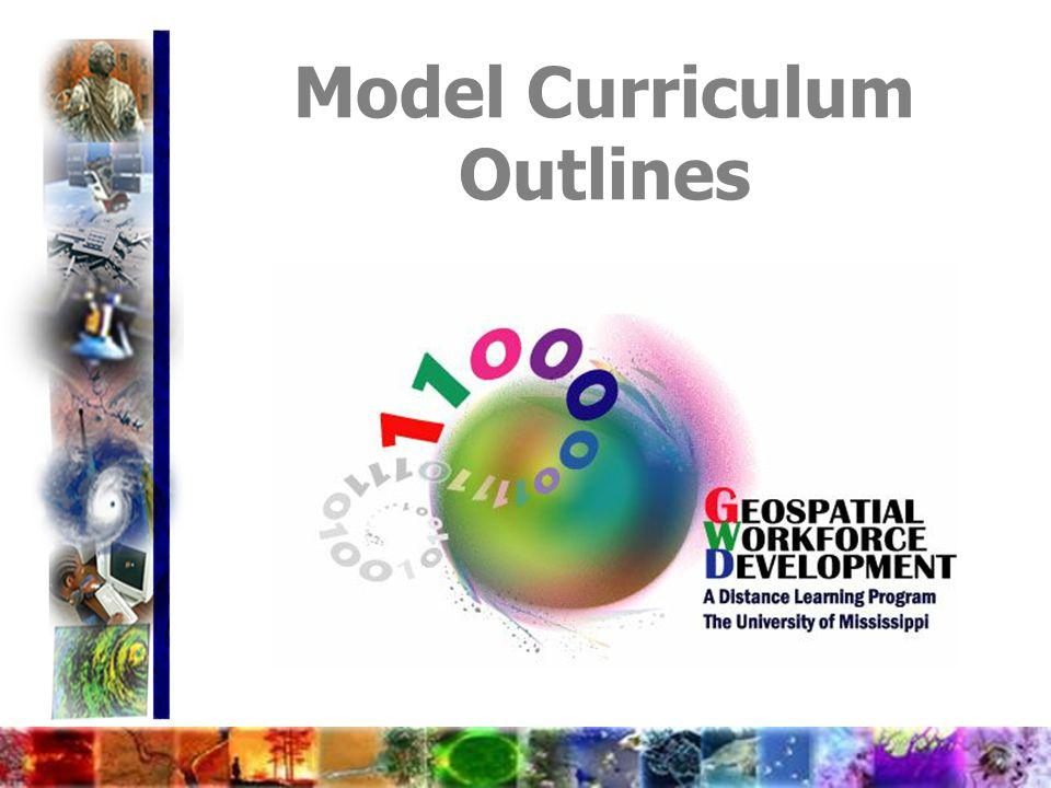 Model Curriculum Outlines