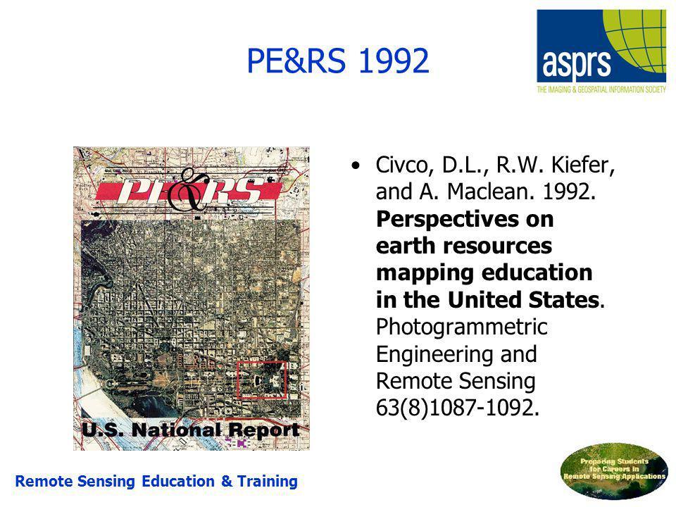 PE&RS 1992