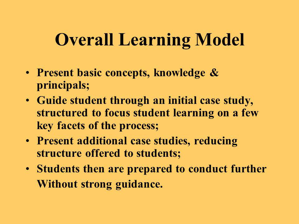 Overall Learning Model