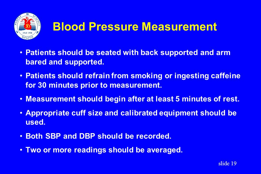 Blood Pressure Measurement
