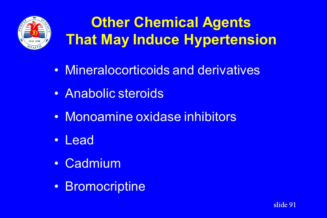 Other Chemical Agents That May Induce Hypertension