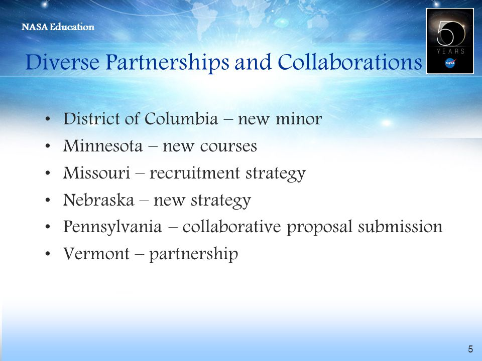 Diverse Partnerships and Collaborations