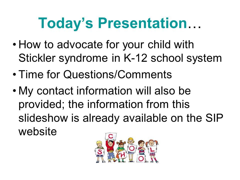 Today's Presentation…