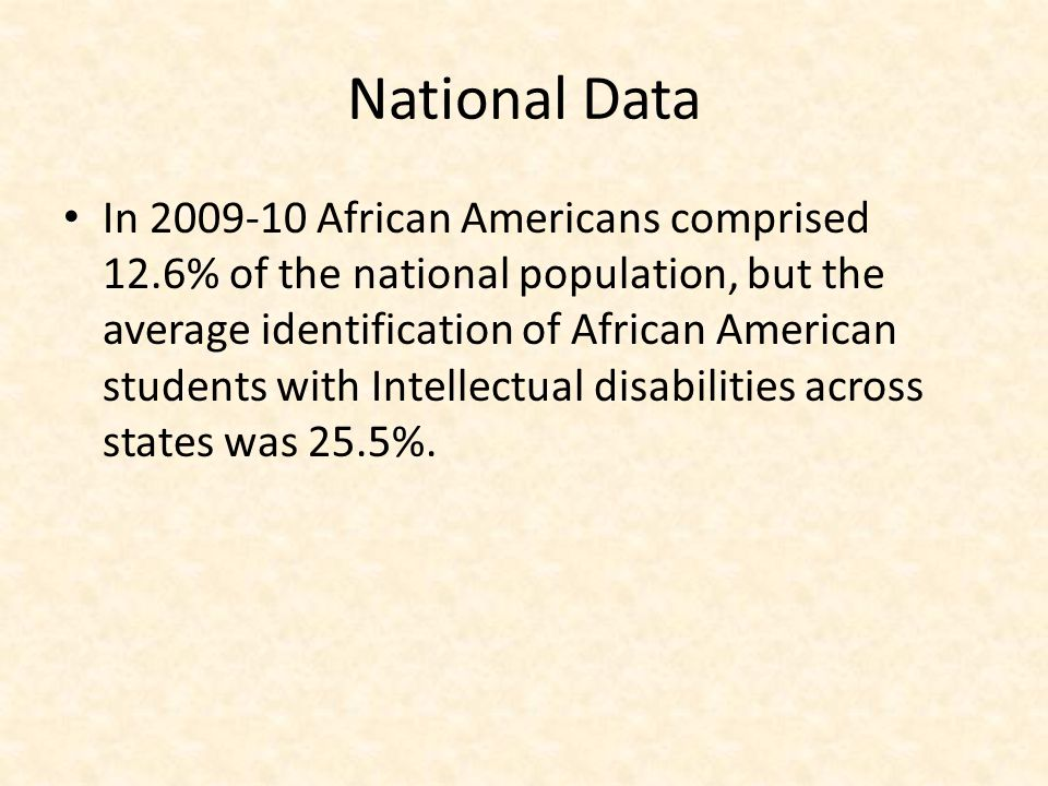 National Data