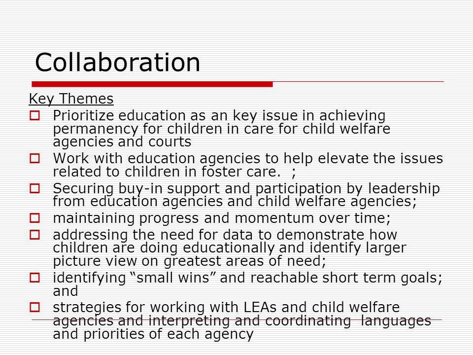 Collaboration Key Themes