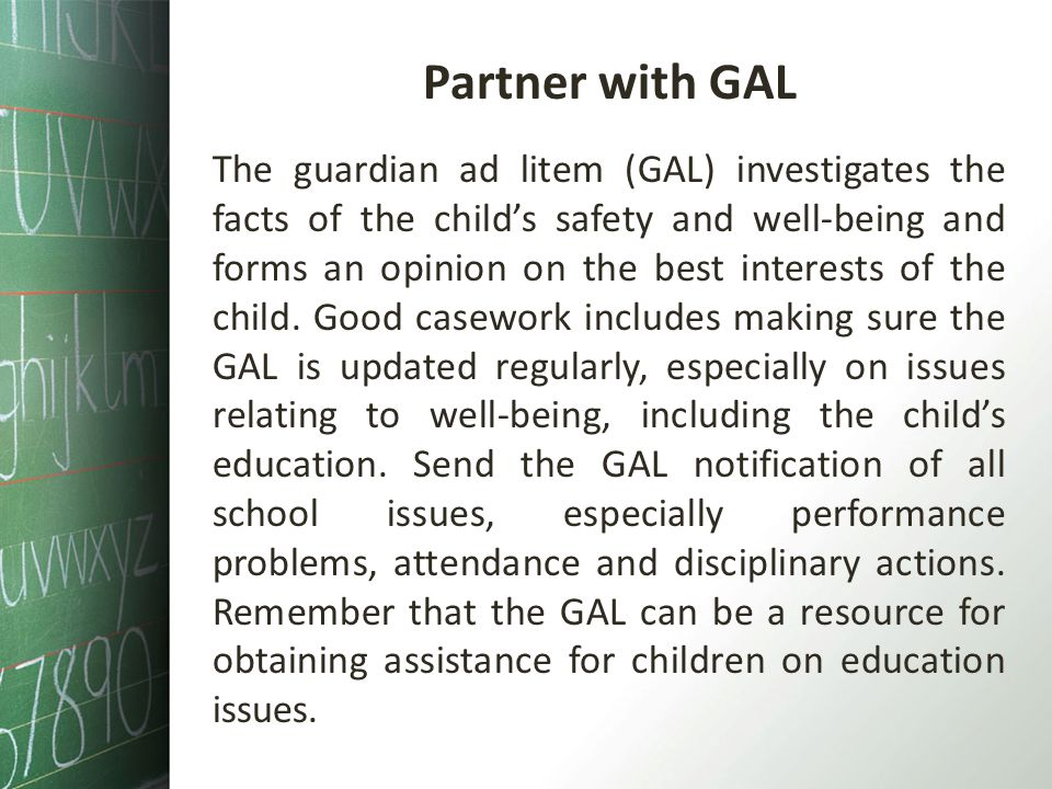 Partner with GAL