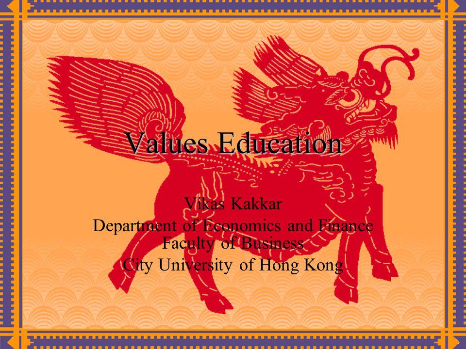 Values Education Vikas Kakkar