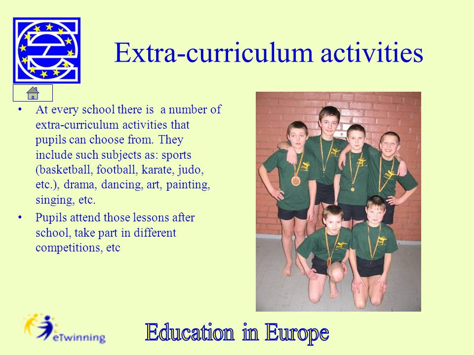 Extra-curriculum activities