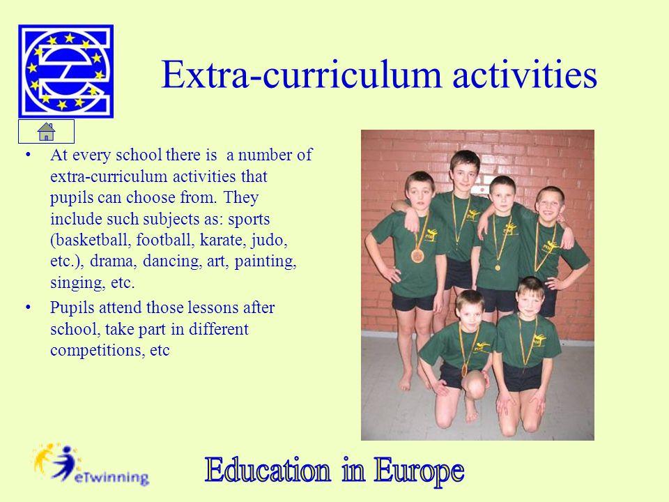 Extra-curriculum activities