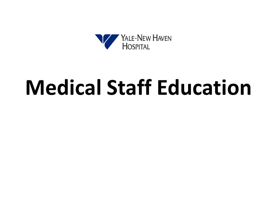 Medical Staff Education