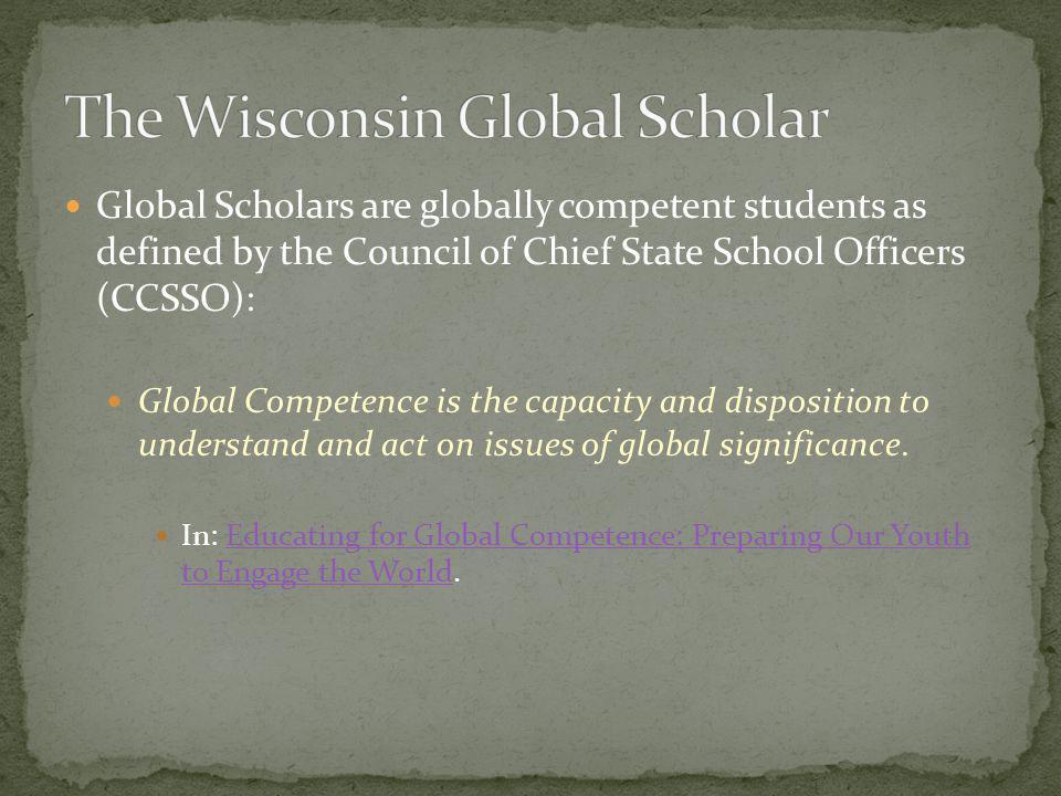The Wisconsin Global Scholar