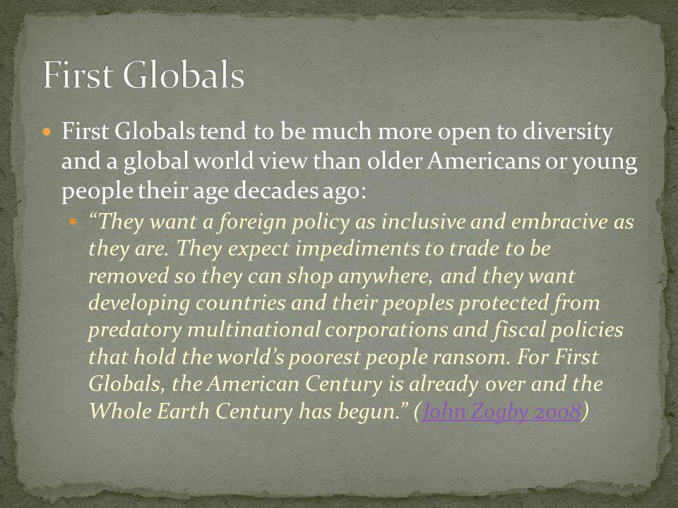 First Globals