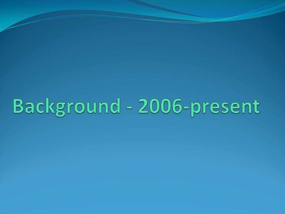 Background present