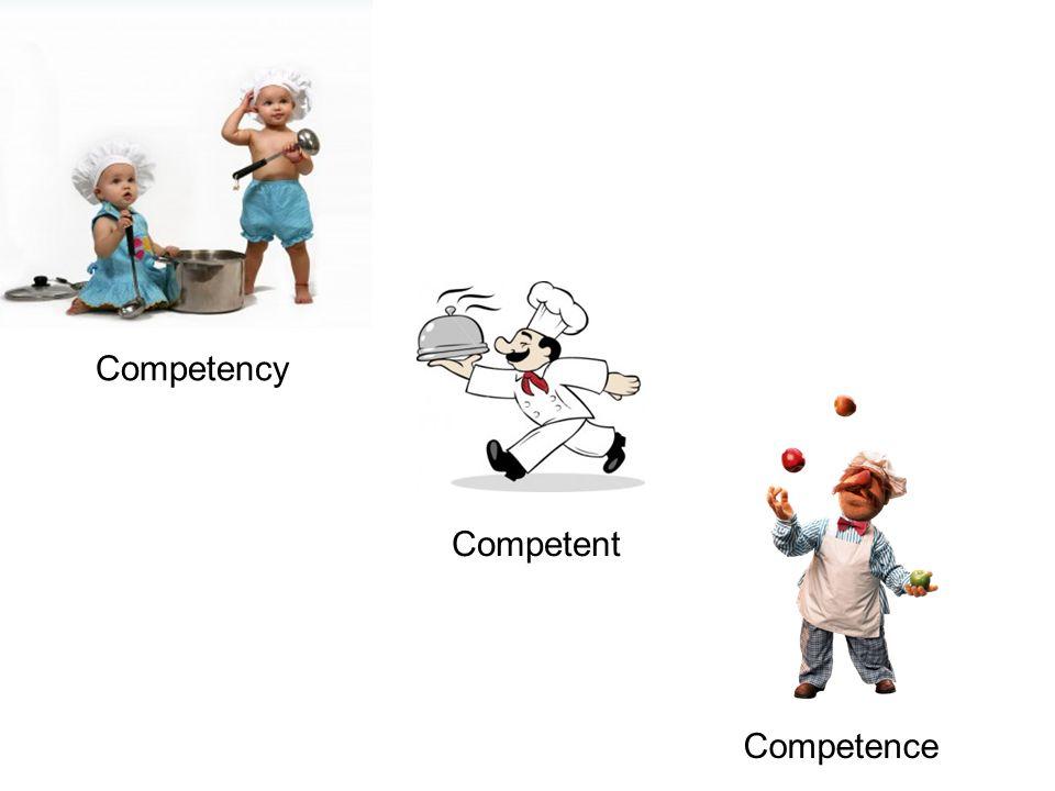 Competency Competent Competence Competency