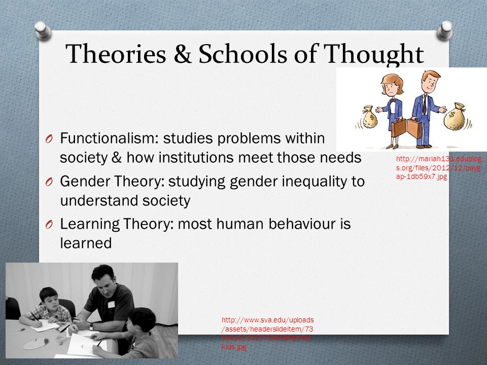 Theories & Schools of Thought