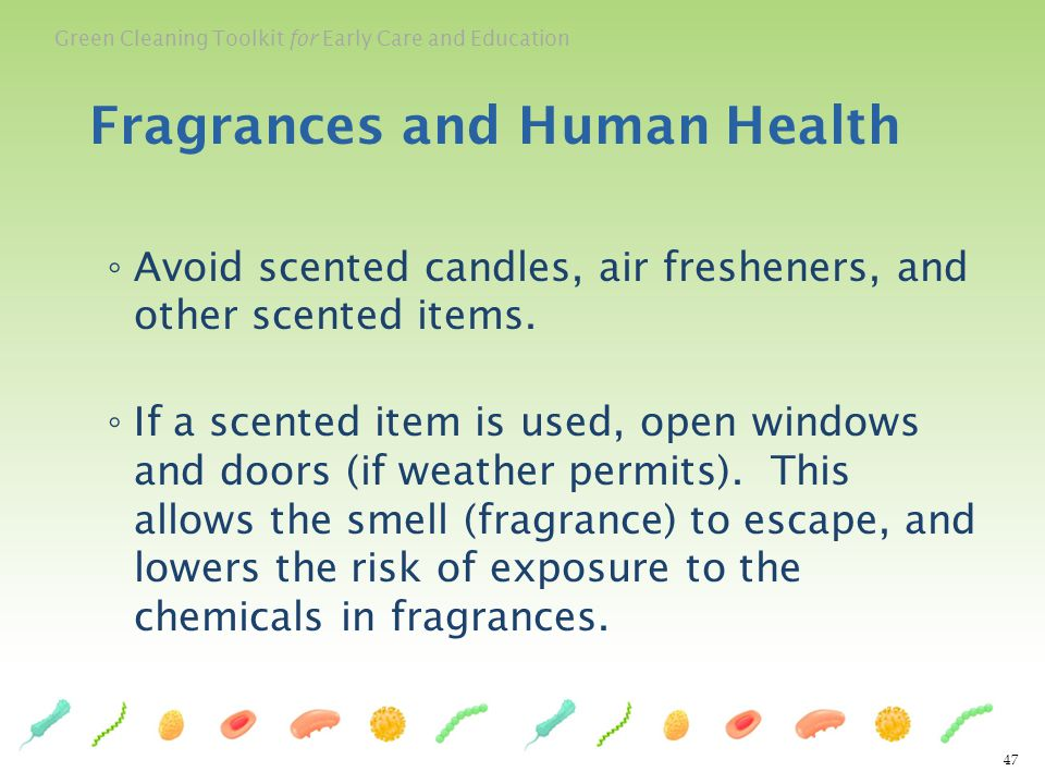 Fragrances and Human Health