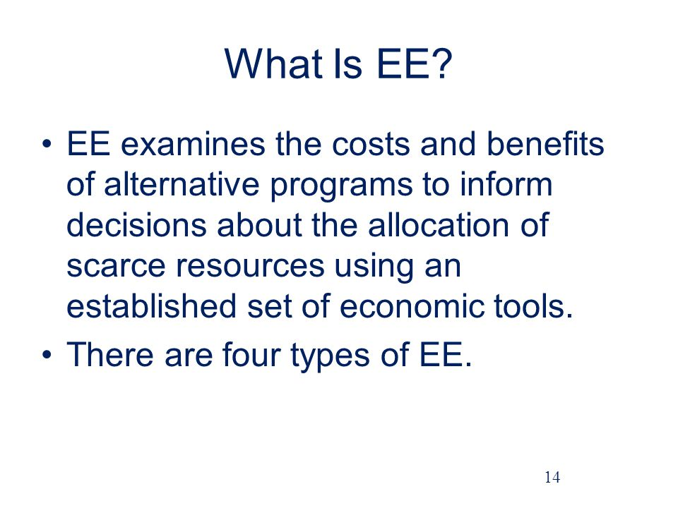 What Is EE
