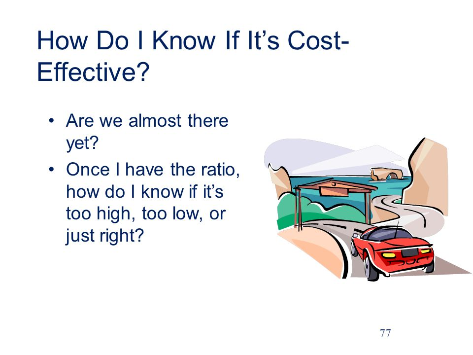 How Do I Know If It's Cost-Effective