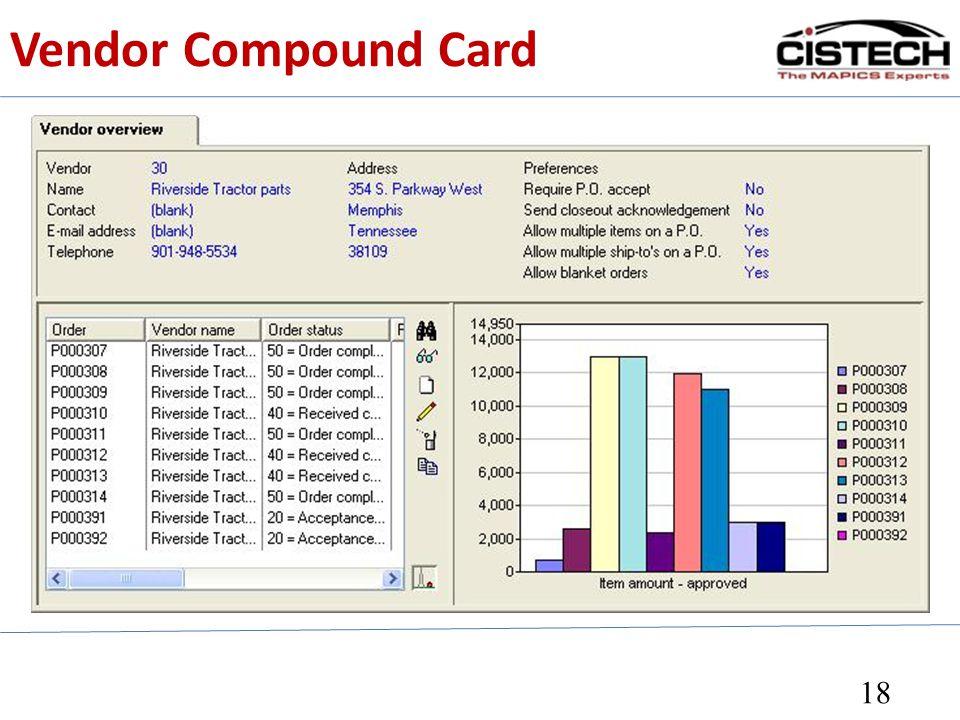 Vendor Compound Card