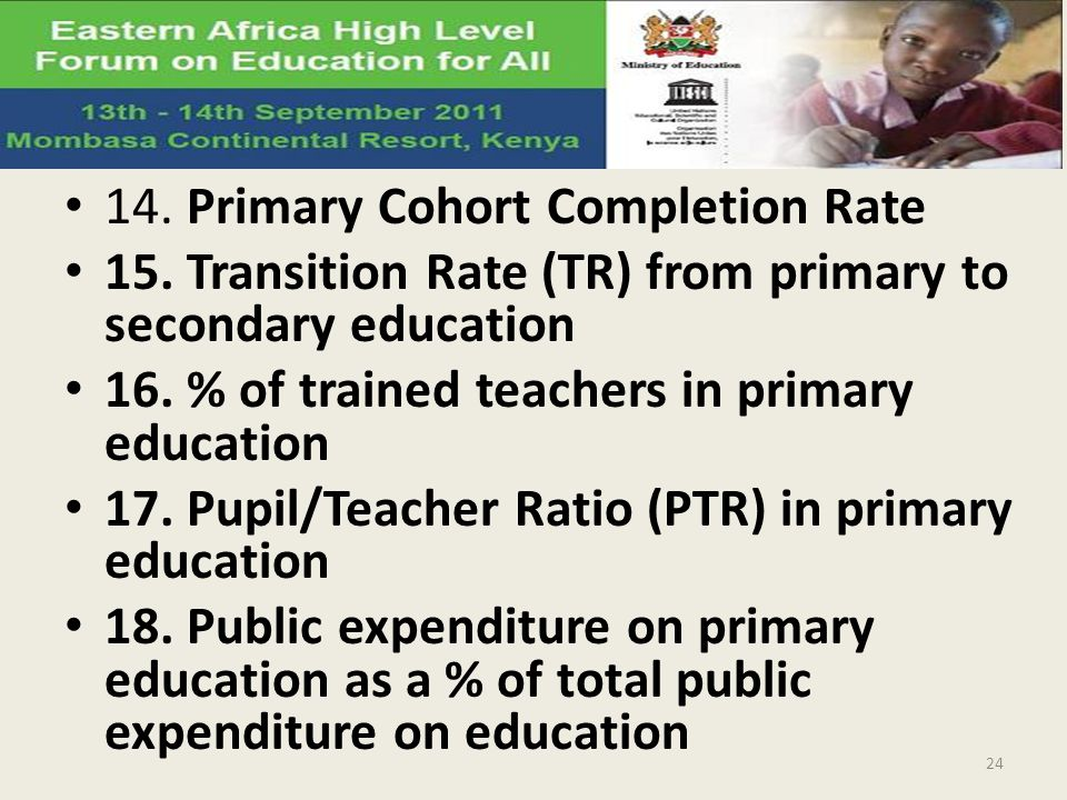 14. Primary Cohort Completion Rate