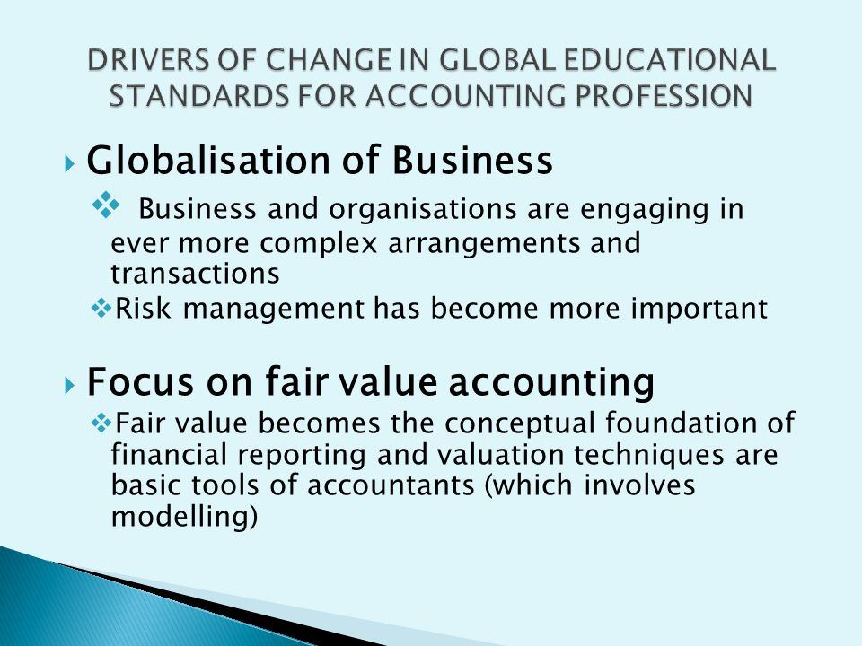 Globalisation of Business
