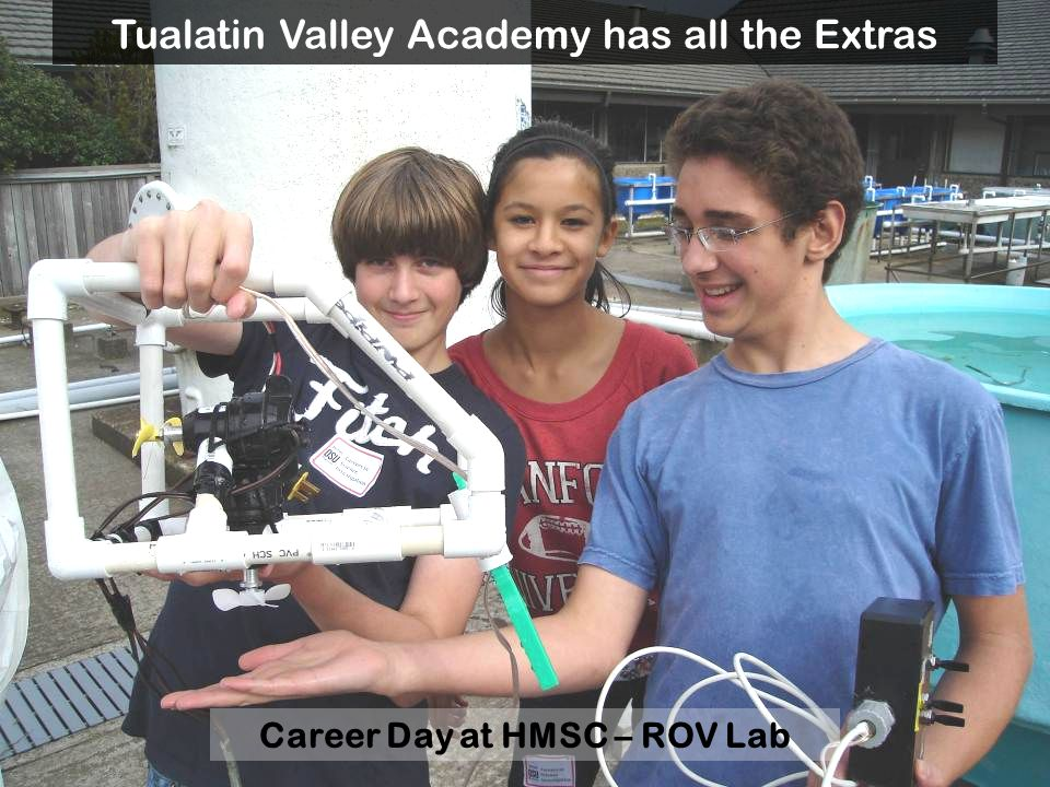 Career Day at HMSC – ROV Lab