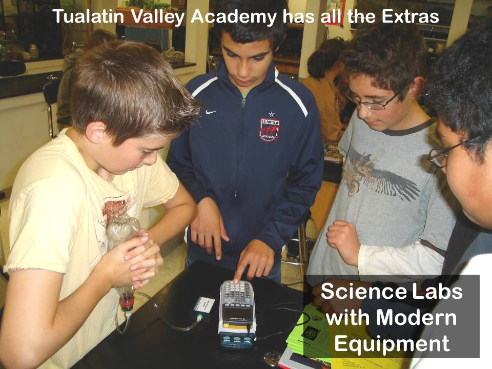 Science Labs with Modern Equipment