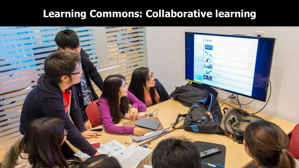 Learning Commons: Collaborative learning