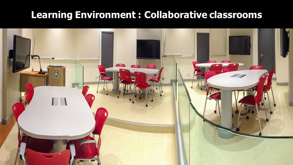 Learning Environment : Collaborative classrooms