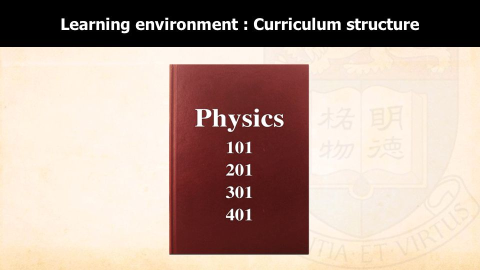 Enabling Curriculum Structure