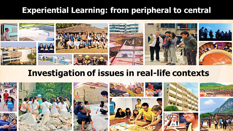 Experiential Learning: from peripheral to central