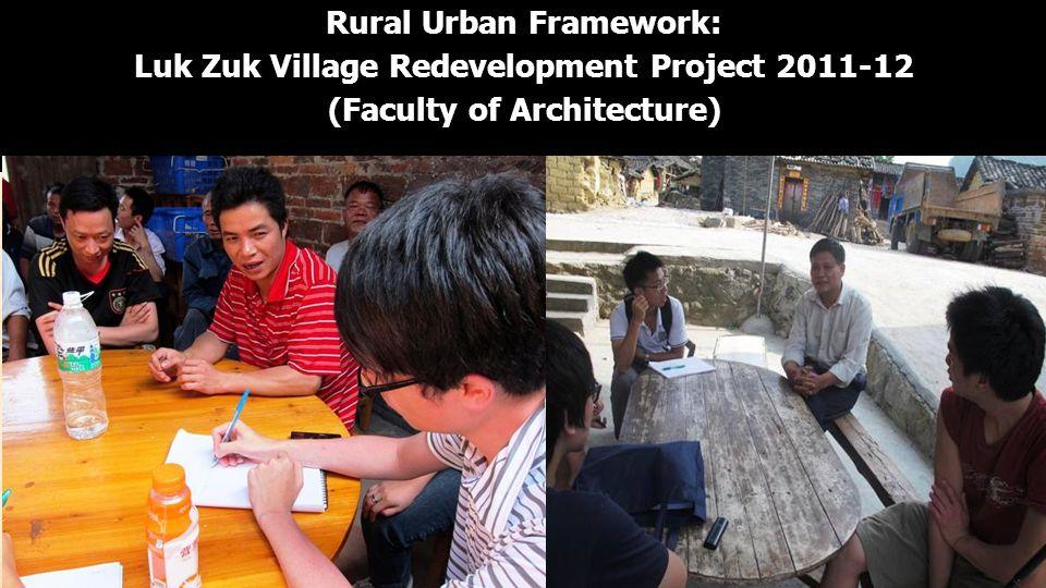 Rural Urban Framework: Luk Zuk Village Redevelopment Project 2011-12