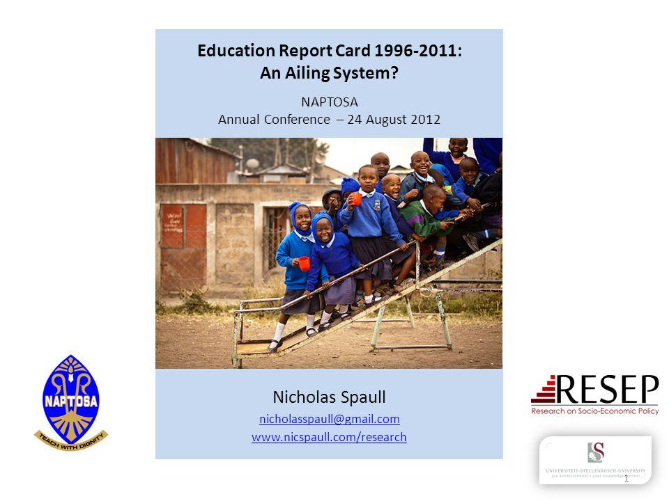 Nicholas Spaull nicholasspaull@gmail.com www.nicspaull.com/research