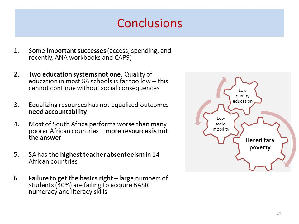 Conclusions Some important successes (access, spending, and recently, ANA workbooks and CAPS)