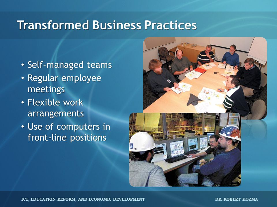 Transformed Business Practices