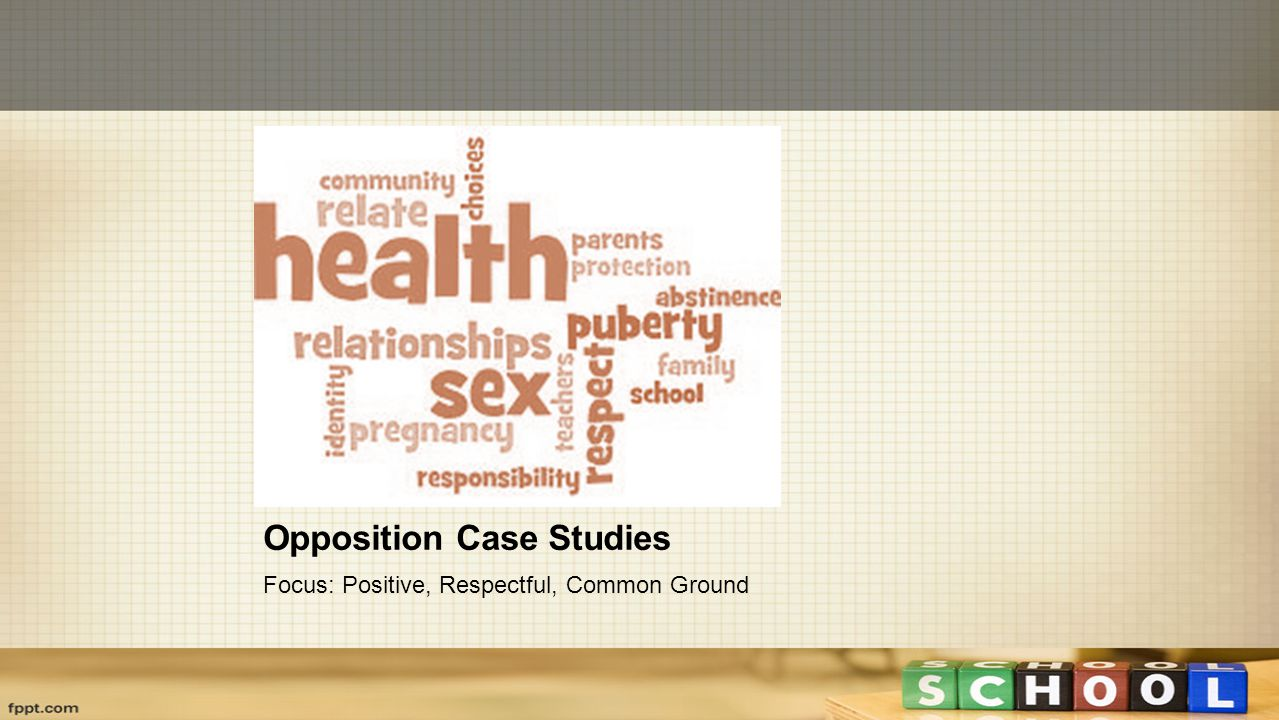 Opposition Case Studies