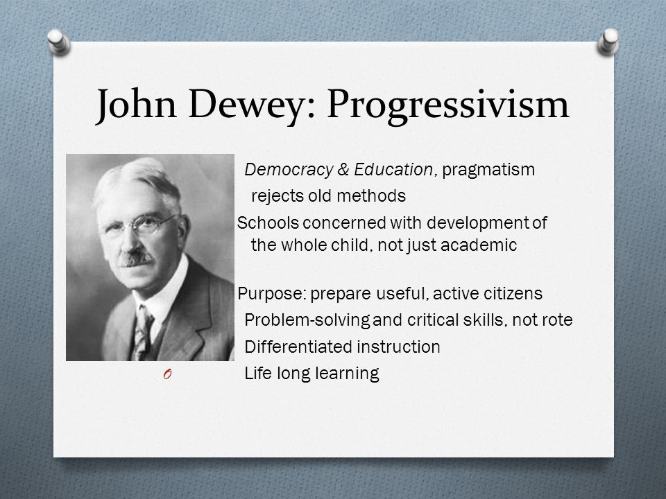 John Dewey on education, experience and community