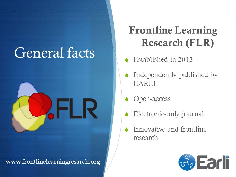 Frontline Learning Research (FLR)