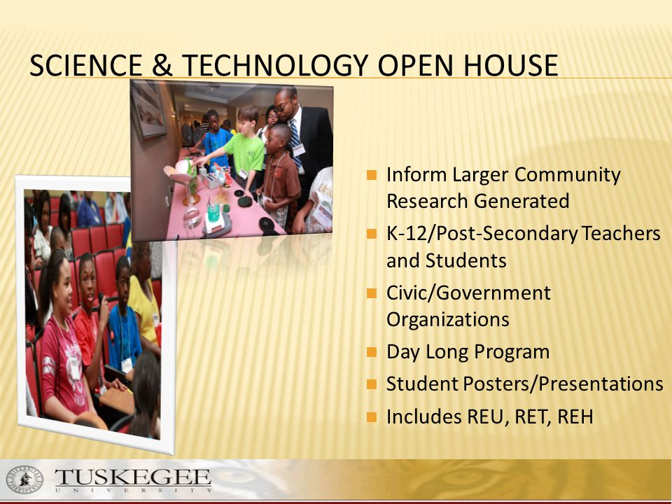 SCIENCE & TECHNOLOGY Open House