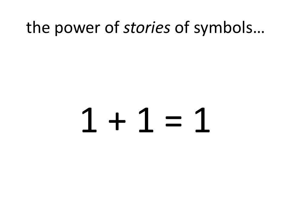the power of stories of symbols…