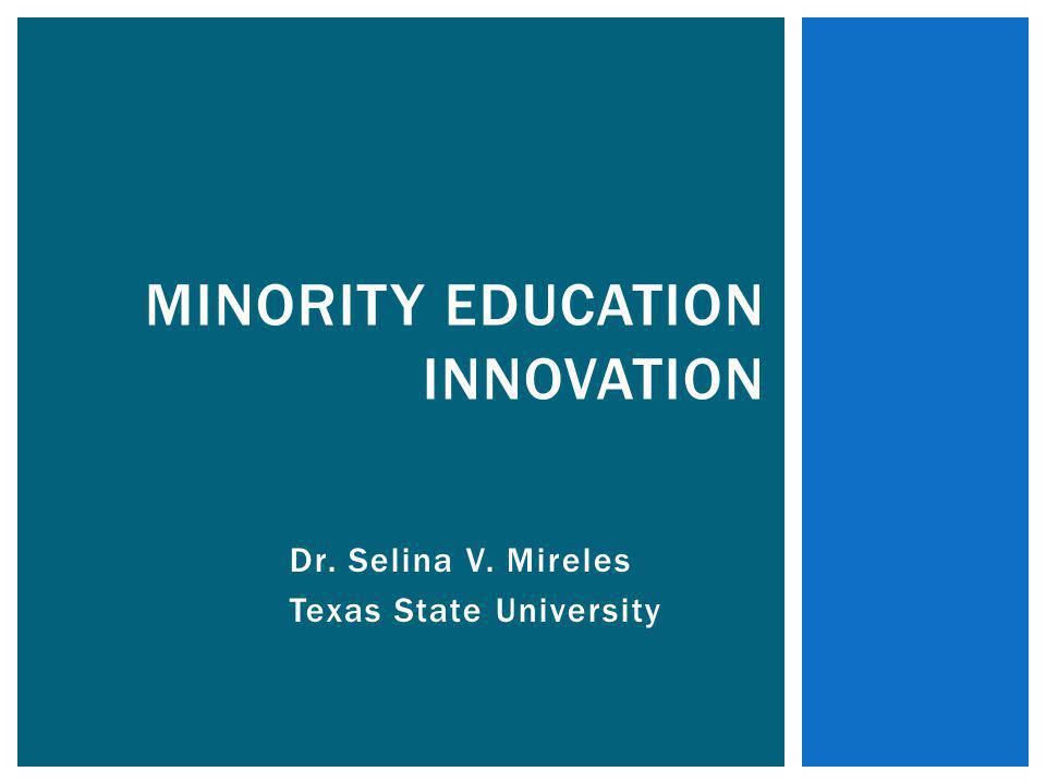 Minority Education Innovation