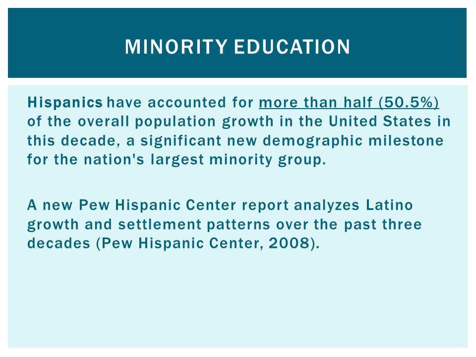 Minority Education