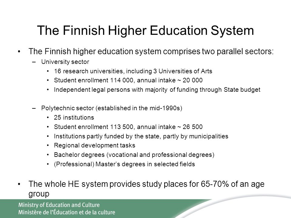 The Finnish Higher Education System